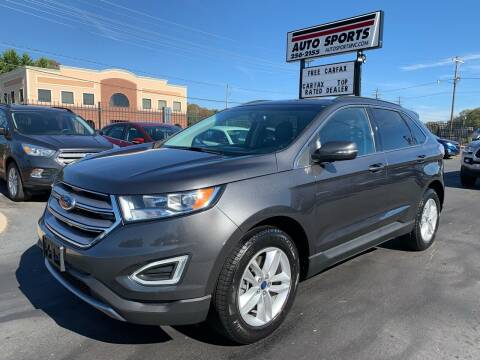 2017 Ford Edge for sale at Auto Sports in Hickory NC