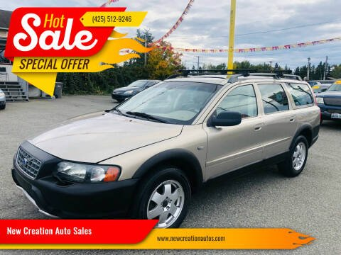 2003 Volvo XC70 for sale at New Creation Auto Sales in Everett WA