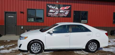 2012 Toyota Camry for sale at SS Auto Sales in Brookings SD