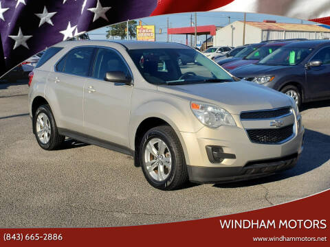 2012 Chevrolet Equinox for sale at Windham Motors in Florence SC