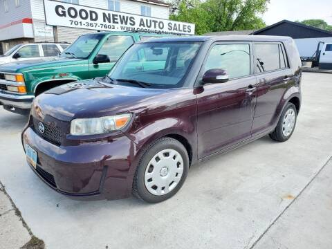 2010 Scion xB for sale at GOOD NEWS AUTO SALES in Fargo ND