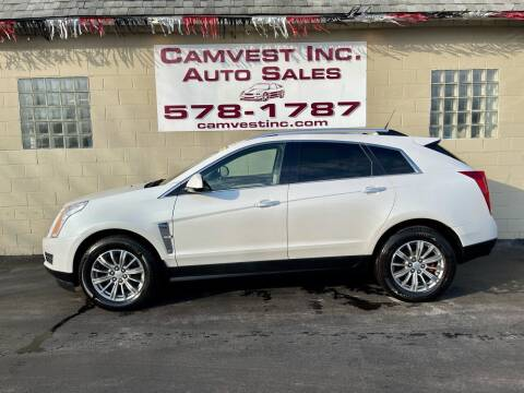 2010 Cadillac SRX for sale at Camvest Inc. Auto Sales in Depew NY