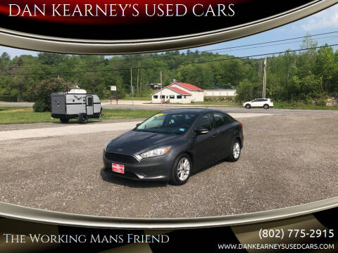 2015 Ford Focus for sale at DAN KEARNEY'S USED CARS in Center Rutland VT