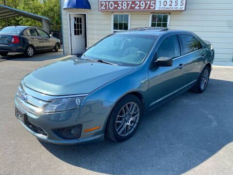 2011 Ford Fusion for sale at Silver Auto Partners in San Antonio TX
