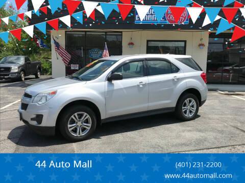 2012 Chevrolet Equinox for sale at 44 Auto Mall in Smithfield RI