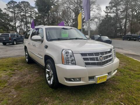 2013 Cadillac Escalade ESV for sale at PIRATE AUTO SALES in Greenville NC
