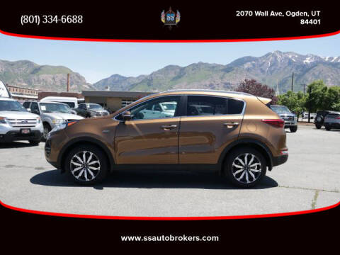 2017 Kia Sportage for sale at S S Auto Brokers in Ogden UT