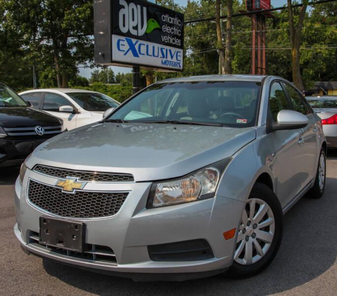 2011 Chevrolet Cruze for sale at EXCLUSIVE MOTORS in Virginia Beach VA