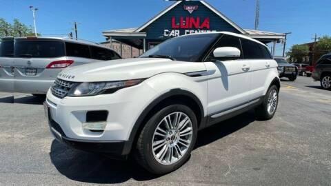 2012 Land Rover Range Rover Evoque for sale at LUNA CAR CENTER in San Antonio TX