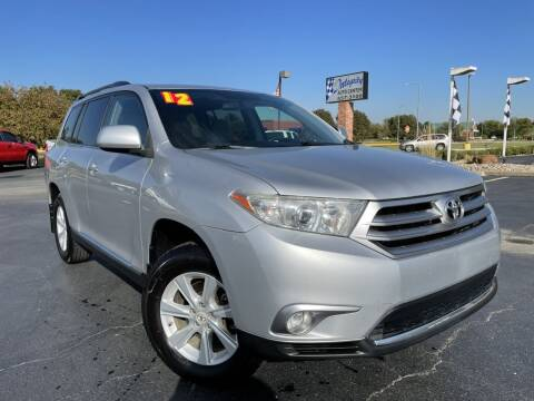 2012 Toyota Highlander for sale at Integrity Auto Center in Paola KS