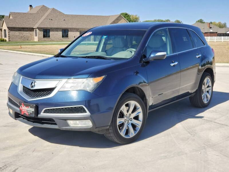 2012 Acura MDX for sale at Chihuahua Auto Sales in Perryton TX