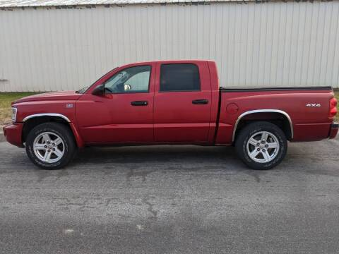 2010 Dodge Dakota for sale at TNK Autos in Inman KS