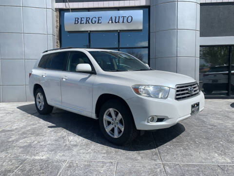 2010 Toyota Highlander for sale at Berge Auto in Orem UT