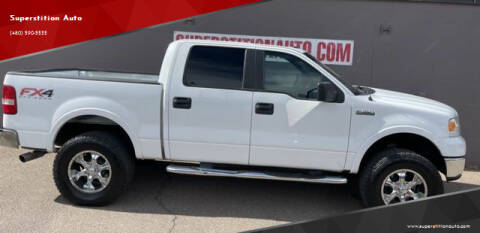 2007 Ford F-150 for sale at Superstition Auto in Mesa AZ