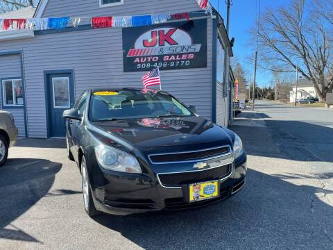 2012 Chevrolet Malibu for sale at JK & Sons Auto Sales in Westport MA