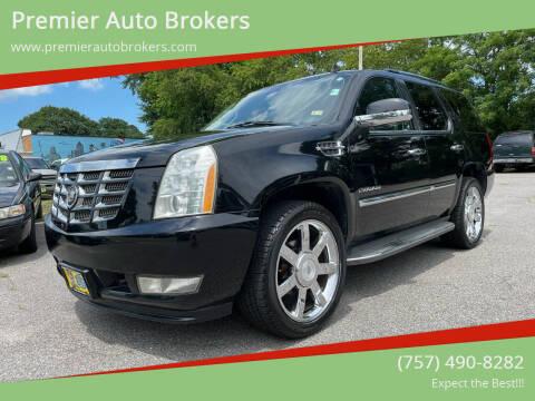 2010 Cadillac Escalade for sale at Premier Auto Brokers in Virginia Beach VA