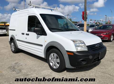 2013 Ford Transit Connect for sale at AUTO CLUB OF MIAMI, INC in Miami FL