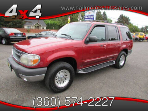 1999 Ford Explorer for sale at Hall Motors LLC in Vancouver WA