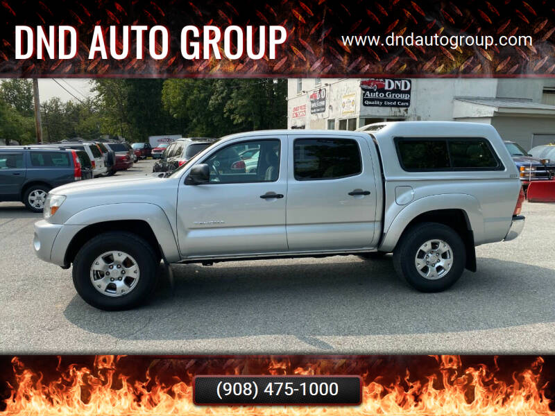 2008 Toyota Tacoma for sale at DND AUTO GROUP in Belvidere NJ