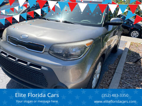 2014 Kia Soul for sale at Elite Florida Cars in Tavares FL