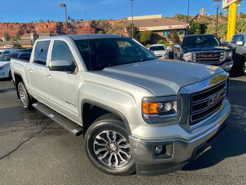 2015 GMC Sierra 1500 for sale at Boulevard Motors in St George UT