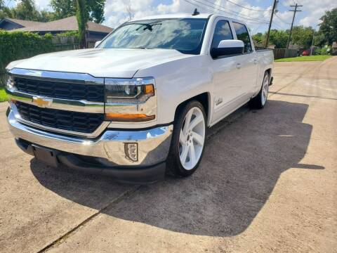 2017 Chevrolet Silverado 1500 for sale at MOTORSPORTS IMPORTS in Houston TX