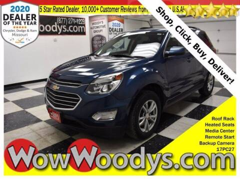 2017 Chevrolet Equinox for sale at WOODY'S AUTOMOTIVE GROUP in Chillicothe MO