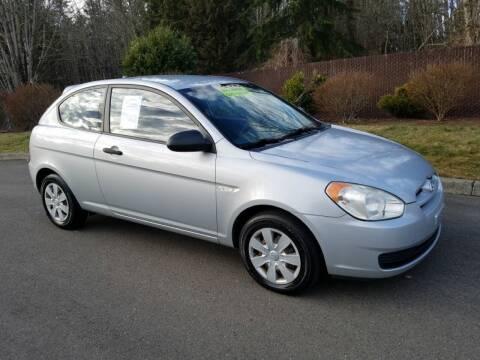 2007 Hyundai Accent for sale at Money Man Pawn (Auto Division) in Black Diamond WA