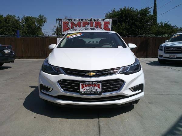 2017 Chevrolet Cruze for sale at Empire Auto Sales in Modesto CA