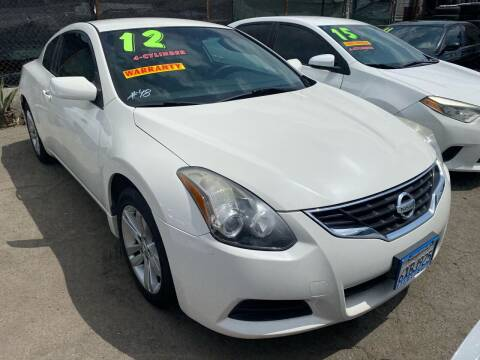 2012 Nissan Altima for sale at CAR GENERATION CENTER, INC. in Los Angeles CA