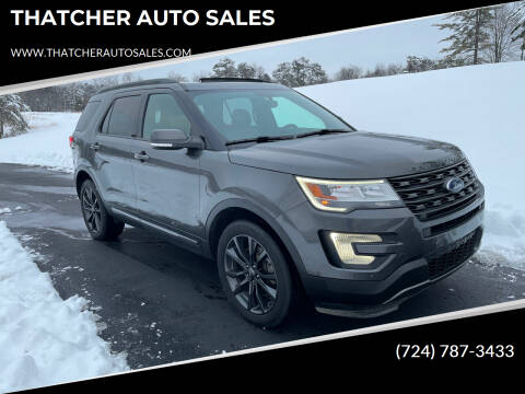2017 Ford Explorer for sale at THATCHER AUTO SALES in Export PA
