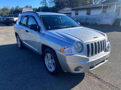 2008 Jeep Compass for sale at CVC AUTO SALES in Durham NC