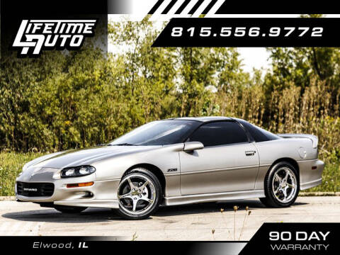 2002 Chevrolet Camaro for sale at Lifetime Auto in Elwood IL