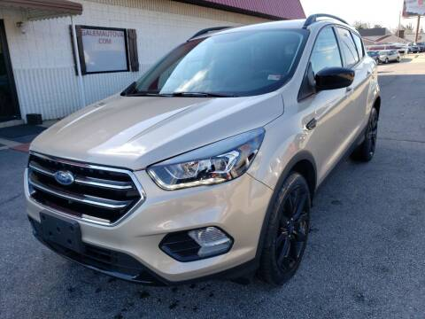 2017 Ford Escape for sale at Salem Auto Sales in Salem VA