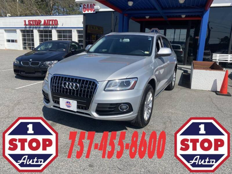 2014 Audi Q5 for sale at 1 Stop Auto in Norfolk VA
