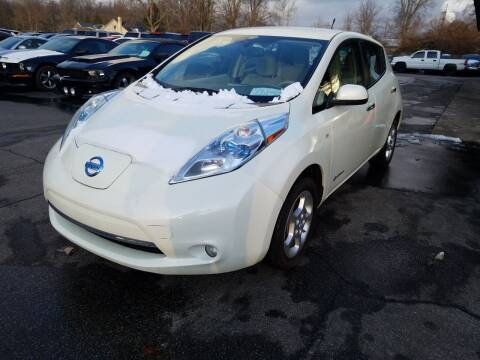 2011 Nissan LEAF for sale at Cruisin' Auto Sales in Madison IN