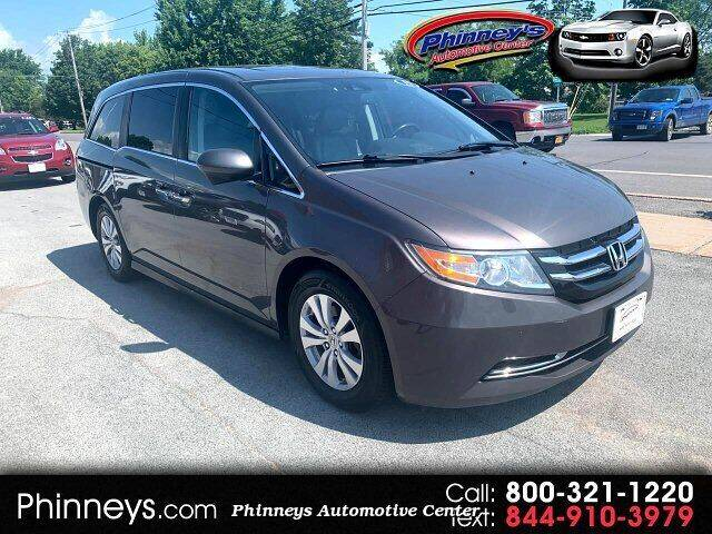 2015 Honda Odyssey for sale at Phinney's Automotive Center in Clayton NY