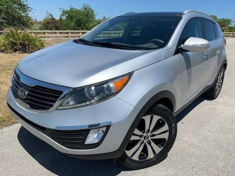 2012 Kia Sportage for sale at Deerfield Automall in Deerfield Beach FL