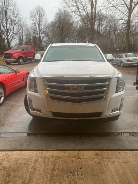 2019 Cadillac Escalade for sale at Engels Autos Inc in Ramsey MN
