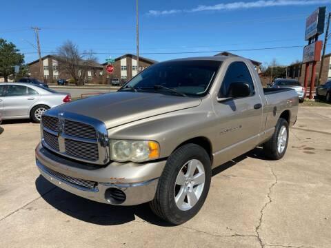 2002 Dodge Ram Pickup 1500 for sale at Car Gallery in Oklahoma City OK