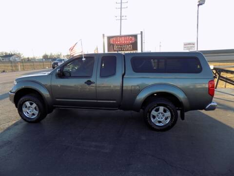 2008 Nissan Frontier for sale at MYLENBUSCH AUTO SOURCE in O` Fallon MO