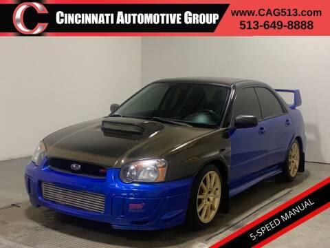 2005 Subaru Impreza for sale at Cincinnati Automotive Group in Lebanon OH
