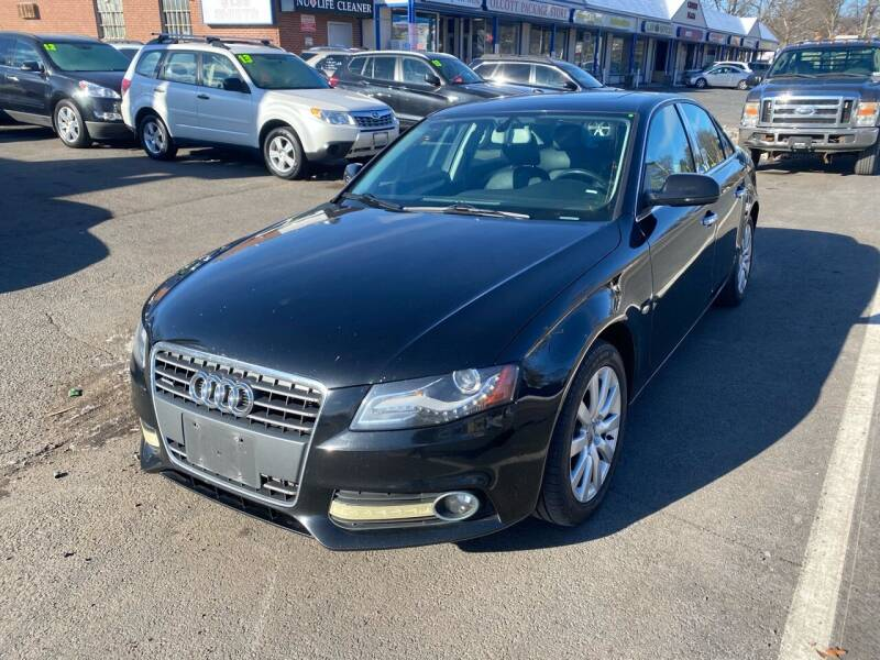 2012 Audi A4 for sale at Manchester Motors in Manchester CT
