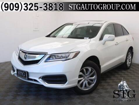 2017 Acura RDX for sale at STG Auto Group in Montclair CA