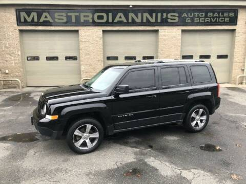 2016 Jeep Patriot for sale at Mastroianni Auto Sales in Palmer MA