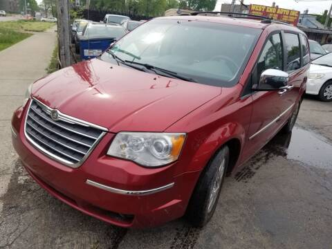 2008 Chrysler Town and Country for sale at WEST END AUTO INC in Chicago IL
