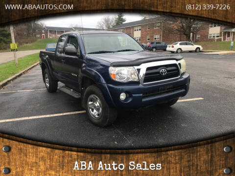 2007 Toyota Tacoma for sale at ABA Auto Sales in Bloomington IN