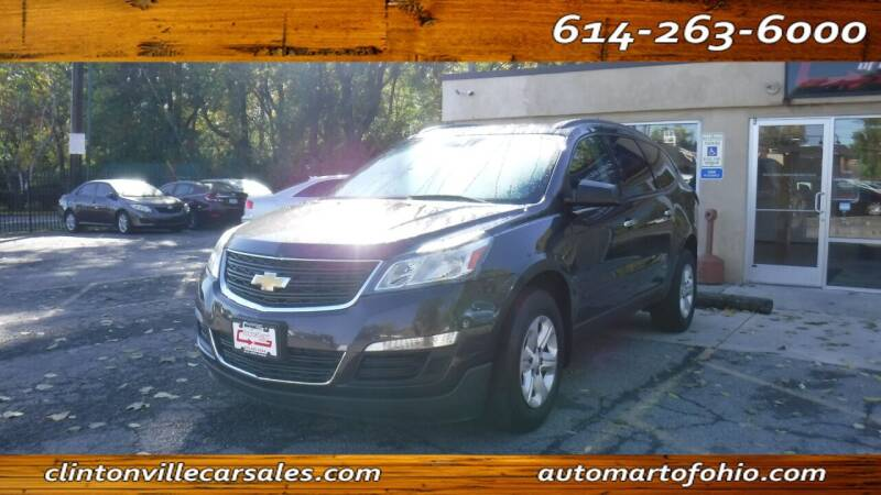 2015 Chevrolet Traverse for sale at Clintonville Car Sales - AutoMart of Ohio in Columbus OH