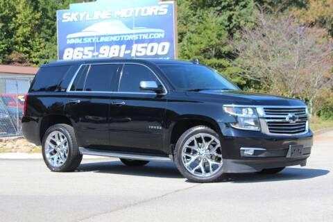 2015 Chevrolet Tahoe for sale at Skyline Motors in Louisville TN