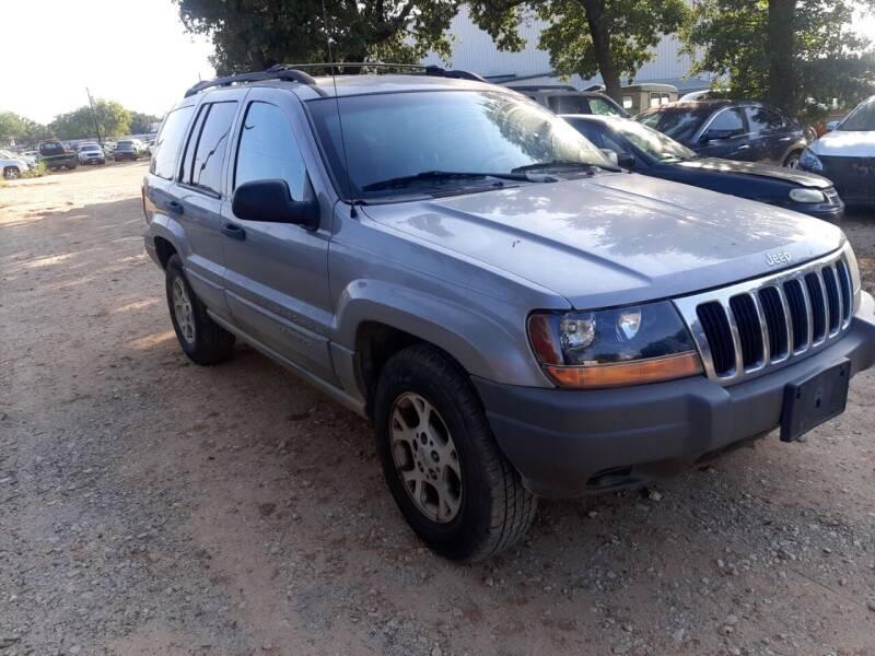 2000 Jeep Grand Cherokee for sale at KK Motors Inc in Graham TX